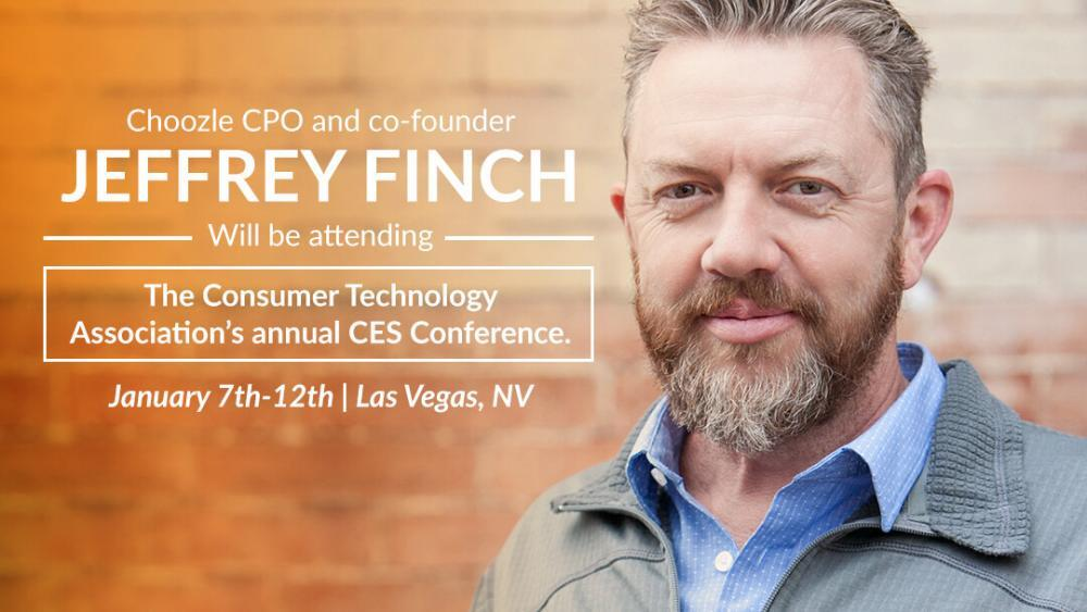 Jeffrey Finch at CES Conference