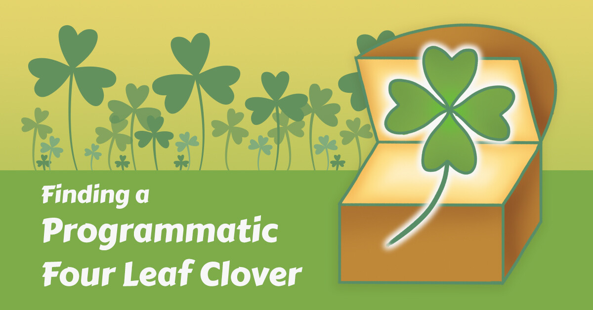 Four Leaf Clover Infographic