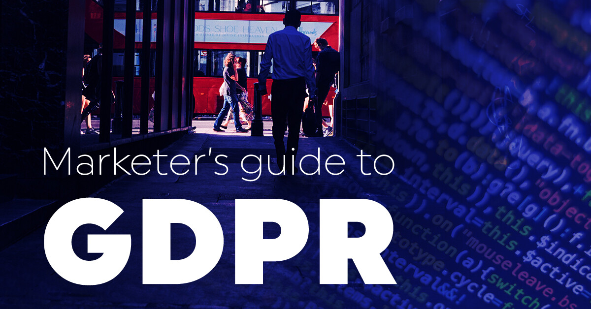 marketer's guide to GDPR