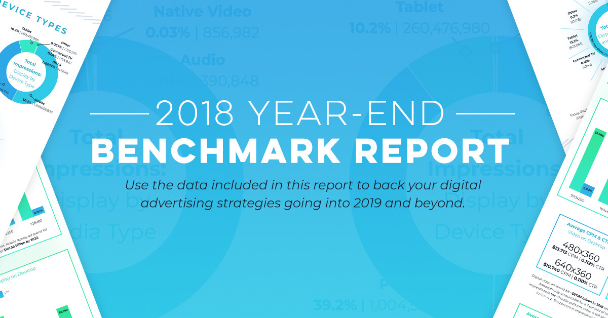 2018 Year End Benchmark Report Infographic