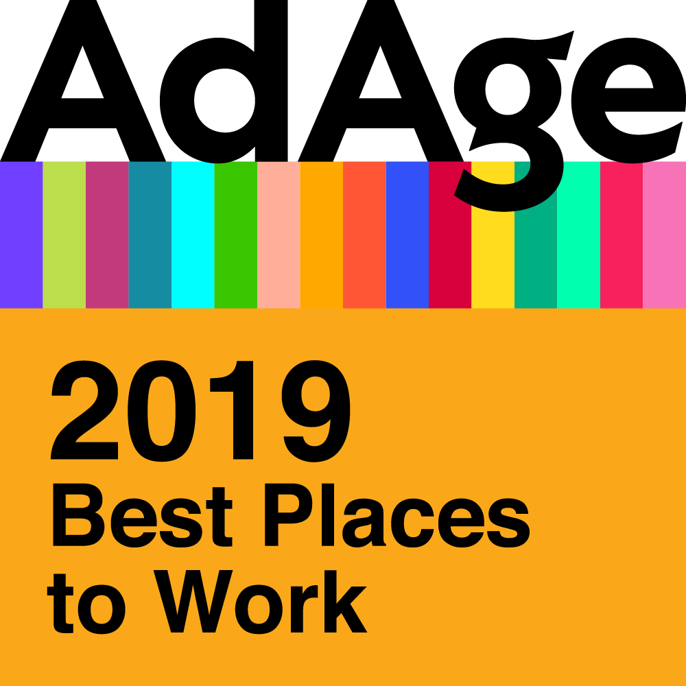 AdAge 2019 Best Places to Work Logo