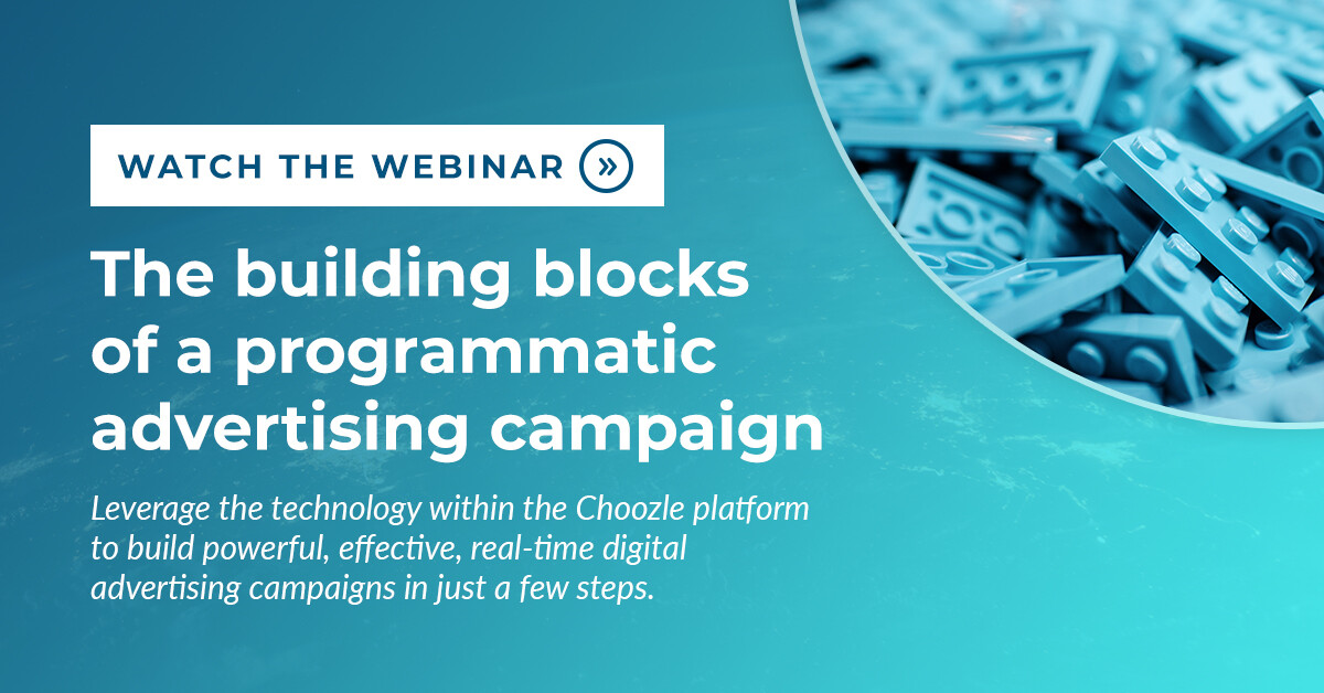 The building blocks of a programmatic advertising campaign webinar