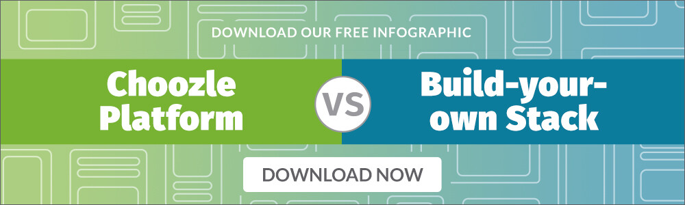 Choozle vs. Build Your Own Stack Infographic