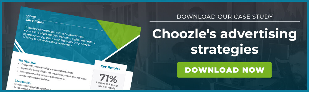 Case study: Choozle's advertising strategies