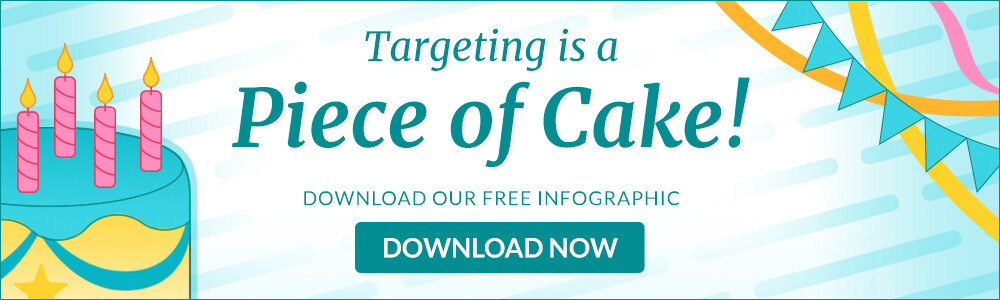 Choozle Targeting is a Piece of Cake Infographic