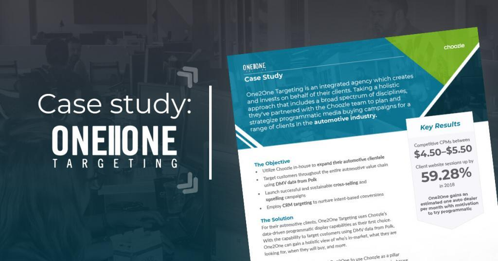 Choozle Case Study One2One Targeting