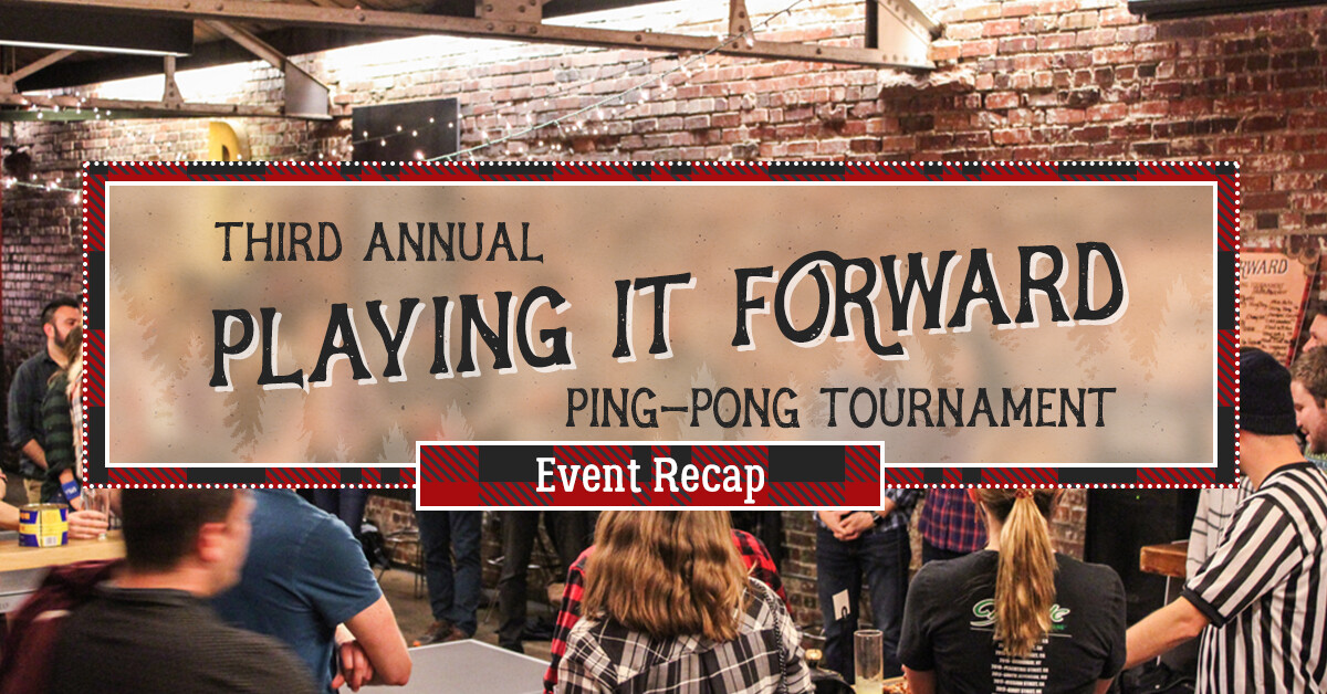 Third Annual Playing It Forward 2019