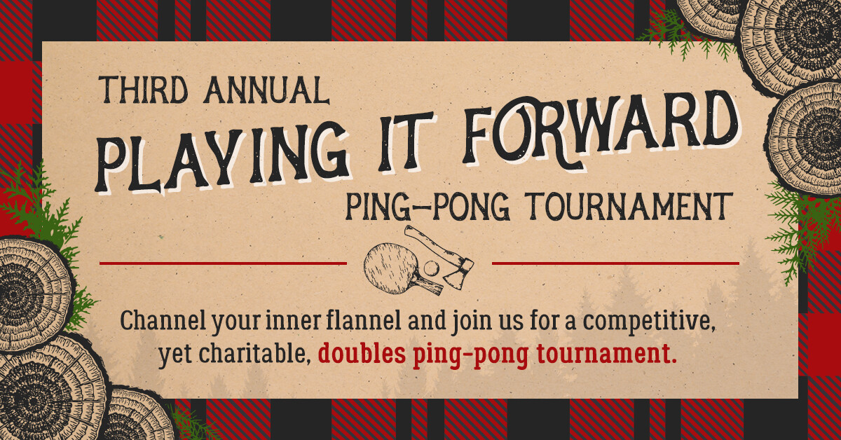 Third Annual Playing It Forward