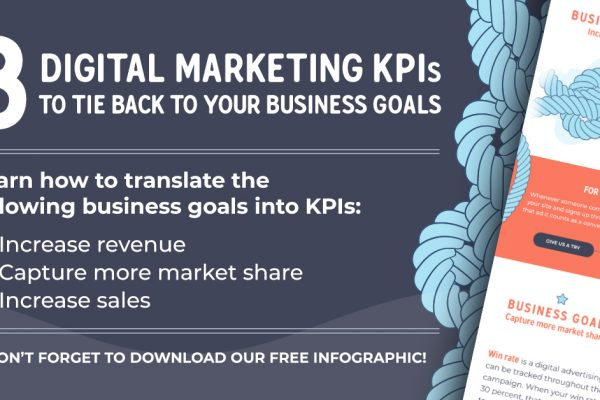 3 digital marketing KPIs to tie back to your business goals
