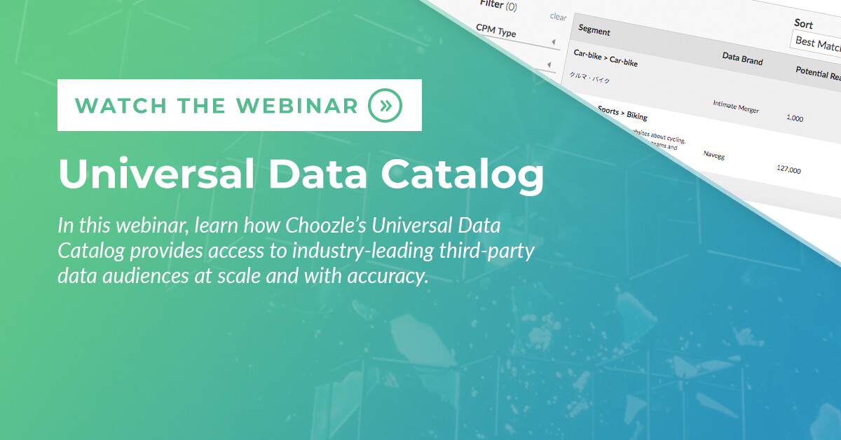 universal data catalog